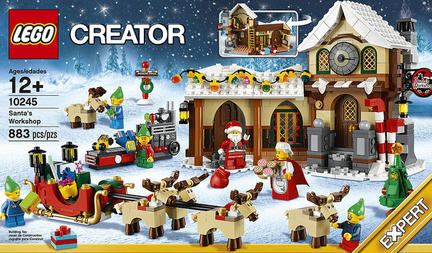 今年のクリスマスセットはコレ