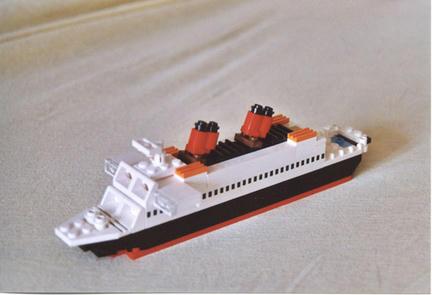 マイクロスケールな豪華客船