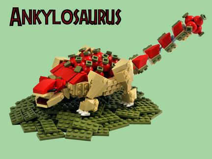 LEGOアンキロサウルス