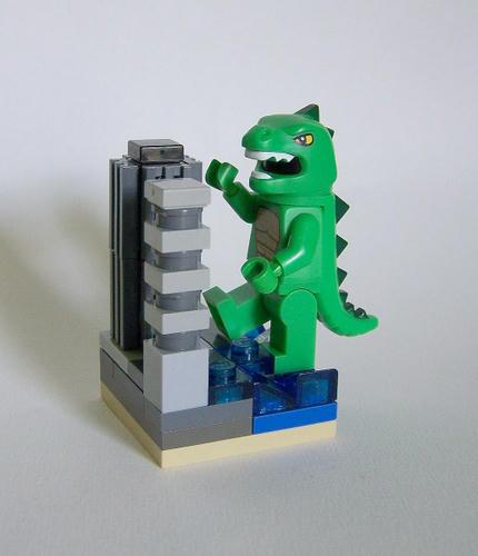 LEGOゴジラ上陸