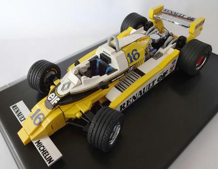 LEGOF1マシン ルノーRE20