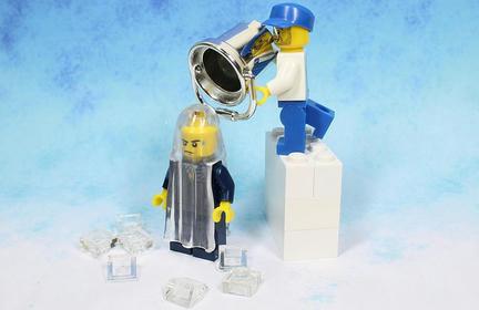 LEGOアイス・バケツ・チャレンジ