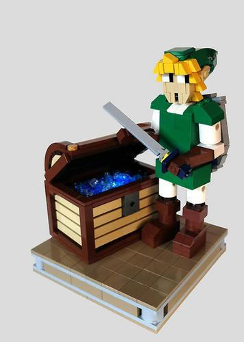 LEGOリンクと宝箱