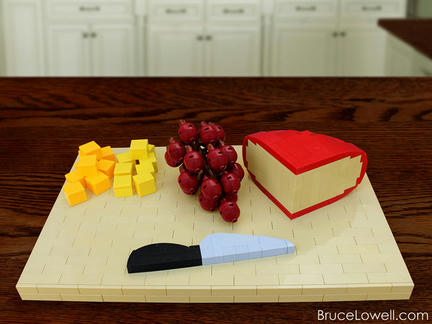 LEGOチーズの盛り合わせ