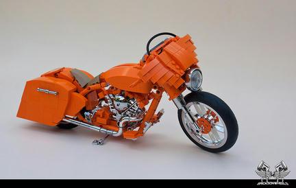 LEGOハーレー・ダビッドソン ストリートグライド