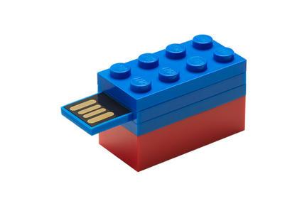 LEGOブロックタイプUSBメモリー