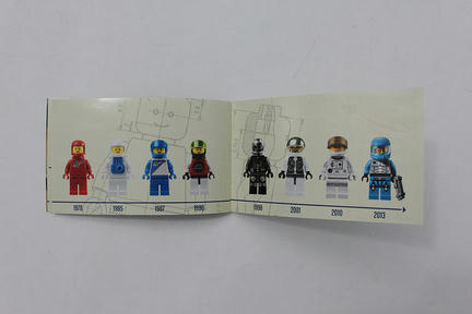 LEGO Classic Spaceman Minifigure - 5002812