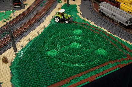 LEGOミステリーサークル