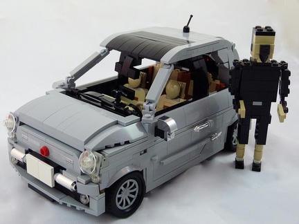 LEGO FIAT500(2012)