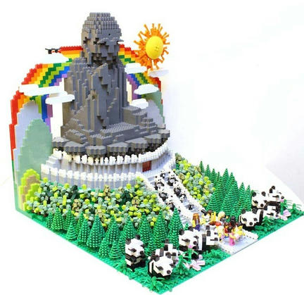 LEGO天壇大仏