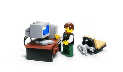 LEGOブルースクリーン