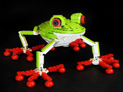 LEGOアカメアマガエル