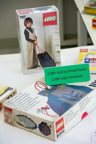 70年代に販売されていたLEGO収納袋