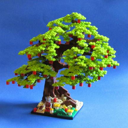 LEGOりんごの木