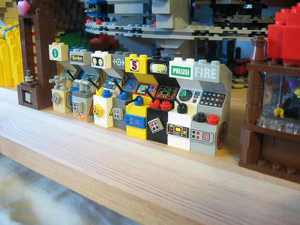 LEGO製アップライト筐体