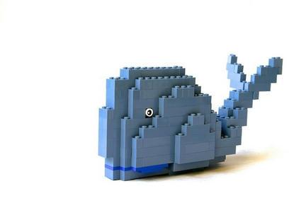 LEGOくじら
