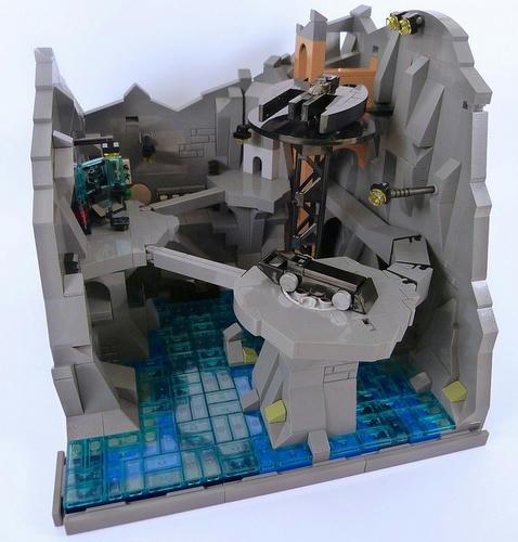 マイクロスケールなバットマン基地