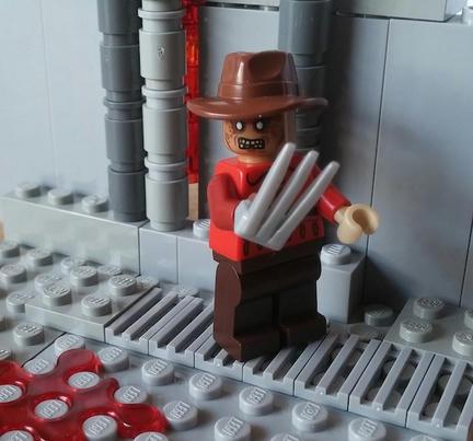 LEGO『エルム街の悪夢』