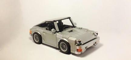 LEGOポルシェ964