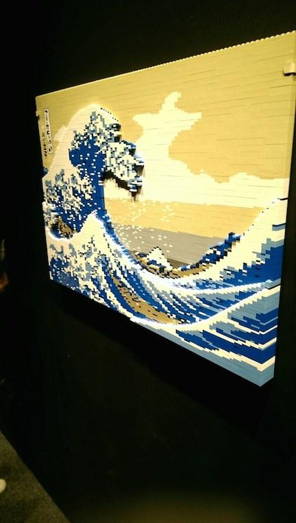 LEGO神奈川沖浪裏