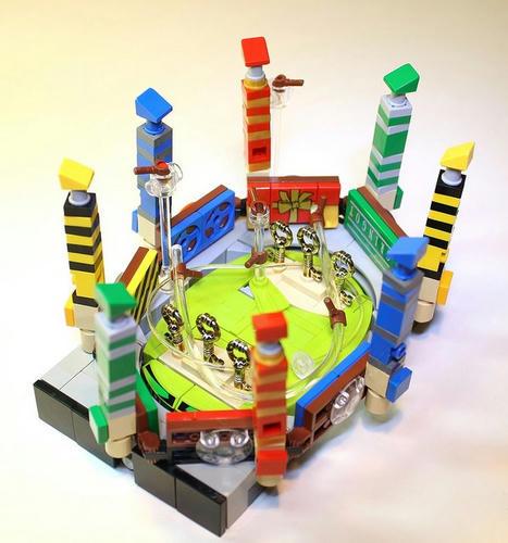 LEGOクィディッチ競技場