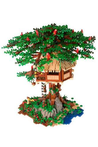 LEGOツリーハウス