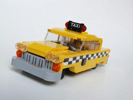 LEGOイエローキャブ