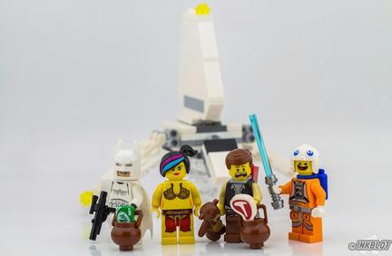 『LEGOムービー』の面々がスター・ウォーズの仮装をしたら