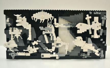 LEGOでピカソのゲルニカ