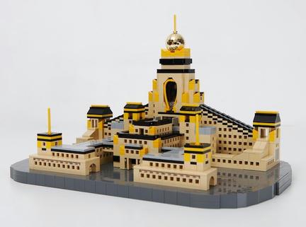 LEGO中台禅寺
