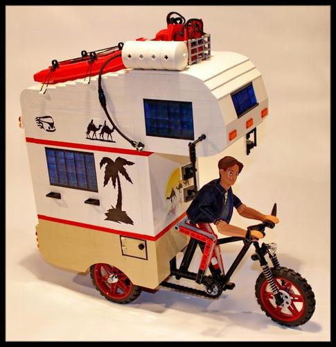LEGOキャンパー自転車