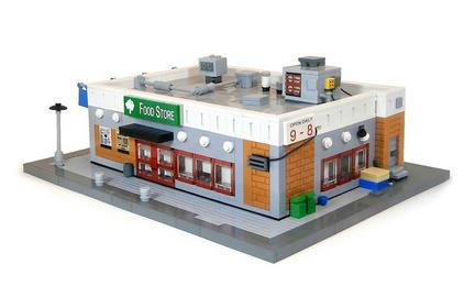LEGO閉店後の食料品店