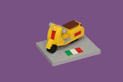 LEGOベスパ