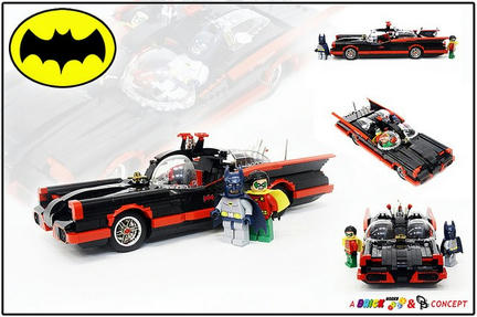 LEGO 60年代なバットモービル