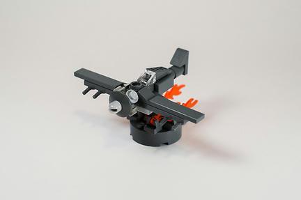 LEGOミニ戦闘機