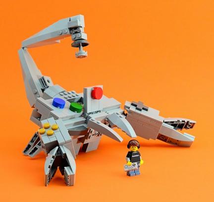 LEGO+64コントローラー+サソリ