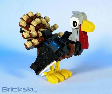 LEGO七面鳥