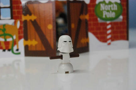 LEGOスノー・トルーパー雪だるま<br />
