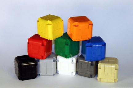 LEGOの角丸立方体