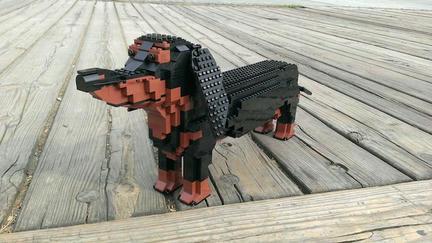 LEGOダックスフント