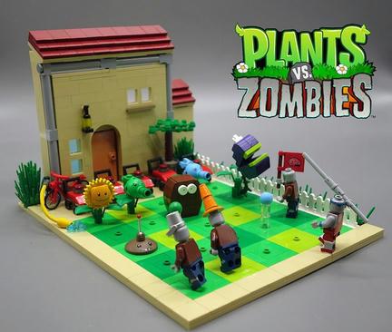 LEGOプラント vs. ゾンビ