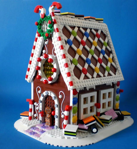 LEGOジンジャーブレッドハウス