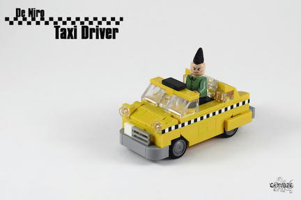 LEGOタクシードライバー