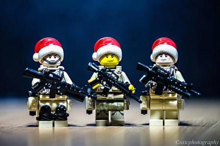 LEGOサンタ軍