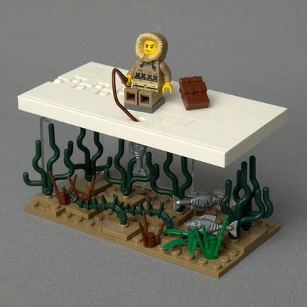 LEGOワカサギ釣り