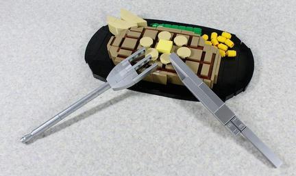LEGOビフテキ