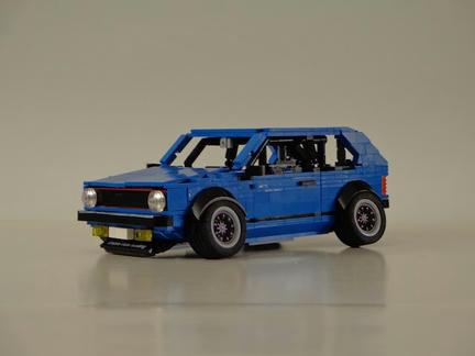 LEGOフォルクスワーゲンゴルフmk1