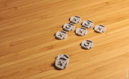 LEGOで○×ゲーム