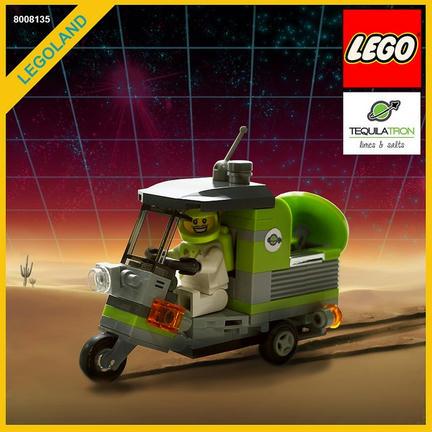 LEGOスペイシーなトゥクトゥク