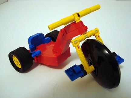 LEGO三輪車